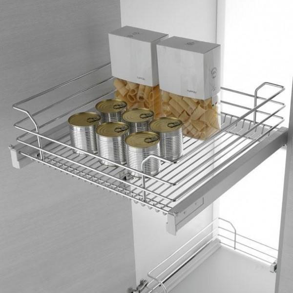Izvlečni element - Vodilo za kuhinjske elemente IZVLEČNE KOŠARE