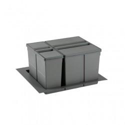 Koš za smeti PVC za v predal 9XL 600 mm
