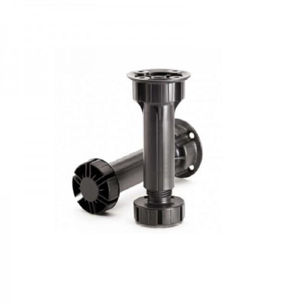 PVC nogica črna, h=100 mm NOGICE