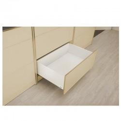 LINOS BOX višine H= 199 mm A beli GTV