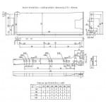 GTV METALBOX Prestige predali višine 86 mm METALBOX