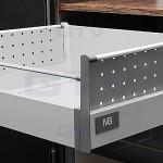 GTV MB bočna stranica kovinska perfurirana L 500 mm MODERNBOX