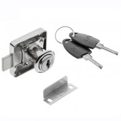 GTV Pohištveni ključavnica kvadratna na ključ