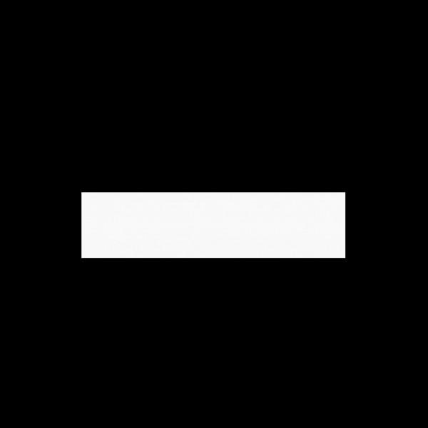 Robni trak ABS 2/22 beli gladek ROBNI TRAKOVI