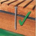 Vijak Spax-D za lesene terase -ANTIK A2 VIJAKI